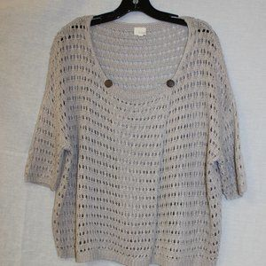 Anthropologie Listicle cardigan sweater